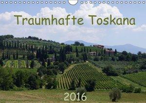 Toskana 2016 (Wandkalender 2016 DIN A4 quer)