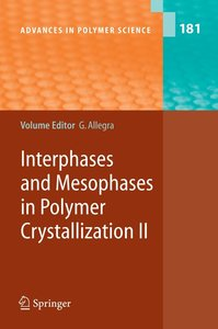 Interphases and Mesophases in Polymer Crystallization II