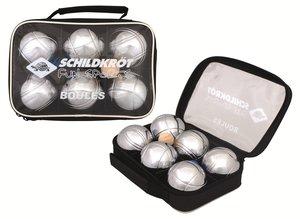Schildkröt - Boule/Boccia/Petanque Set aus 3x2 Metall Kugeln
