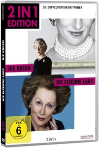 2 in 1 Edition: Die Queen/Die Eiserne Lady (DVD)