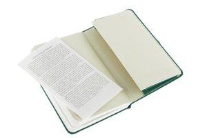 Moleskine Plain Notebook Extra Small Grass Green