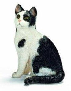 Schleich 13637 - Farm Life: Katze, sitzend