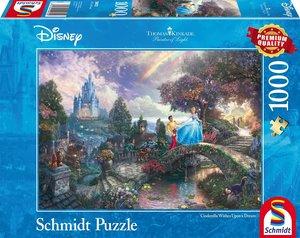 Schmidt Spiele Puzzle Thomas Kinkade Disney Cinderella 1000 Teil