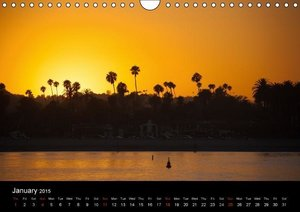 Sunrises and Sunsets / UK-Version (Wall Calendar 2015 DIN A4 Lan