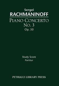Piano Concerto No. 3, Op. 30 - Study Score