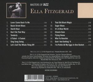 Ella Fitzgerald-Masters of Jazz