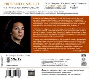 Profano e Sacro-Scarlatti