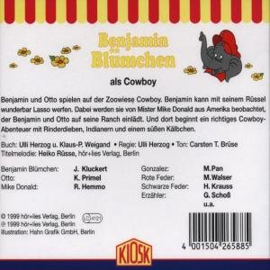 Benjamin Blümchen 088 als Cowboy. CD
