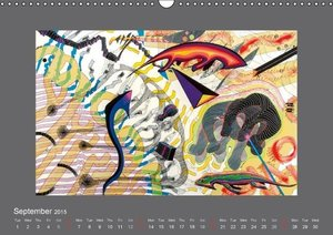 My Art Sounds and Dreams (Wall Calendar 2015 DIN A3 Landscape)