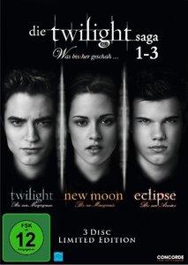 Die Twilight Saga 1-3 - Was bis(s)her geschah ... Limited-Editio