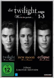 Die Twilight Saga 1-3 - Was bis(s)her geschah ... Limited-Editio