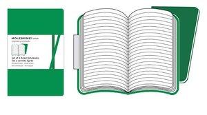 Moleskine Ruled Volant Extrasmall Emerald Green Cover