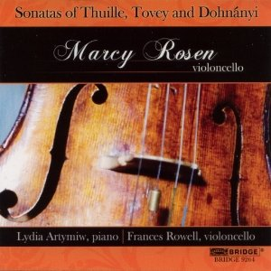 Sonatas of Thuille,Tovey & Dohnanyi