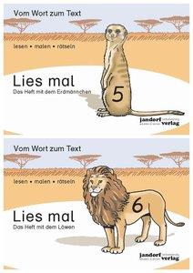 Das Heft mit dem Erdmännchen / Das Heft mit dem Löwen