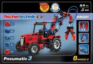 Fischertechnik Profi 516185 - Pneumatic 3, Baukasten mit 8 Model
