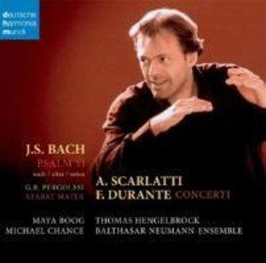 Bach: Psalm 51 (+Durante,Scarlatti)