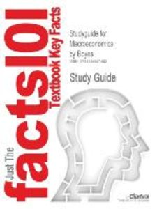 Studyguide for Macroeconomics by Boyes, ISBN 9780618372546