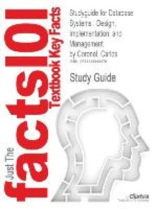 Studyguide for Database Systems