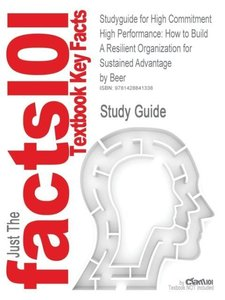 Studyguide for High Commitment High Performance