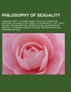 Philosophy of sexuality
