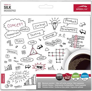 Speedlink SILK Mousepad, Coffee