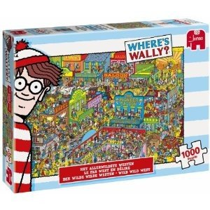 Jumbo Spiele 17250 - Wo ist Walter? Wheres Wally?: Der wilde wil