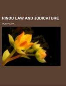 Hindu Law and Judicature