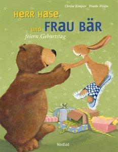 Herr Hase und Frau Bär feiern Geburtstag