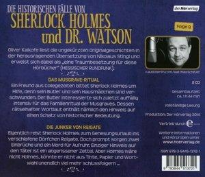 Die Memoiren des Sherlock Holmes. Das Musgrave-Ritual & Die Junk