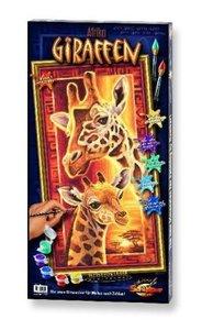 Schipper 609220457 - Afrika Giraffen, MNZ, Malen nach Zahlen
