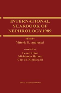 International Yearbook of Nephrology 1989