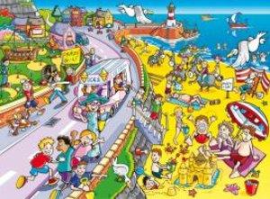 Finde den Fehler - Strand 100 Teile