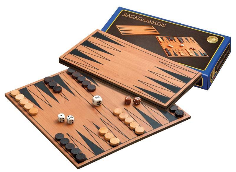 Philos 1138 - Backgammon-Set - zum Schließen ins Bild klicken