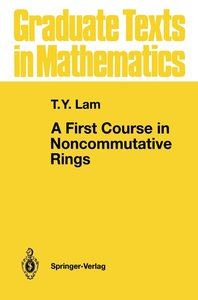 Lam, T: First Course in Noncommutative Rings