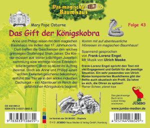 Das magische Baumhaus 43. Das Gift der Königskobra
