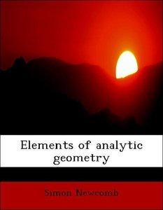 Elements of analytic geometry