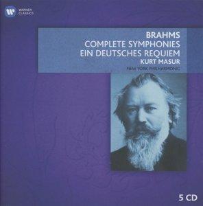 Sinfonien 1-4/Ein Deutsches Requiem & Ouvertüren