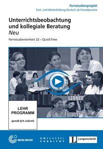 32: Unterrichtsbeobachtung und kollegiale Beratung - Quicktime-D