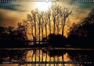 Friesland - wo die Natur sich spiegelt (Wandkalender 2016 DIN A3