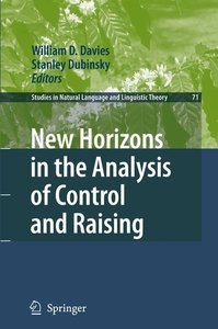 New Horizons in the Analysis of Control and Raising