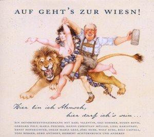 Auf Geht's Zur Wiesn!-Oktoberfest