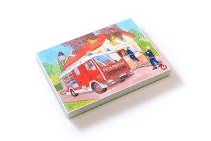 Midi-Puzzle Feuerwehr im Einsatz