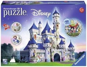Ravensburger 3D Puzzle Disney Schloss 216 Teile