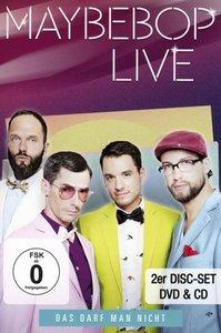Das Darf Man Nicht-Live (DVD+CD)
