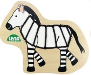 Lena 32076 - Fädeltier Zebra