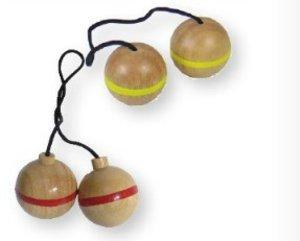 BEX 599-519 Leitergolf Ersatz Bälle, 3 Sets mit rotem Ring, Gumm