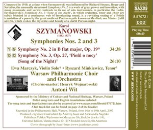 Sinfonien 2+3
