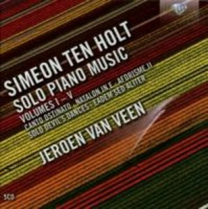 Simeon ten Holt: Solo Piano Music Vol I-V