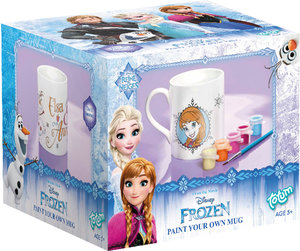 Totum Disney Frozen - Die Eiskönigin Paint your own Mug - Tasse