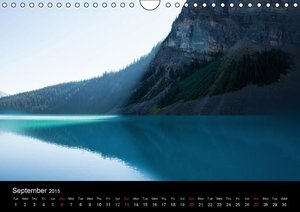 Lakes of the Rocky Mountains (Wall Calendar 2015 DIN A4 Landscap